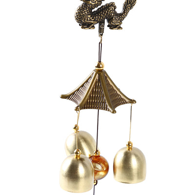 PROPITIOUS DRAGON FENG SHUI WIND CHIME