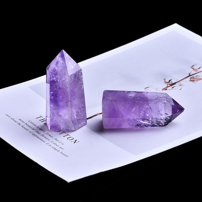1PC Natural Amethyst Crystal