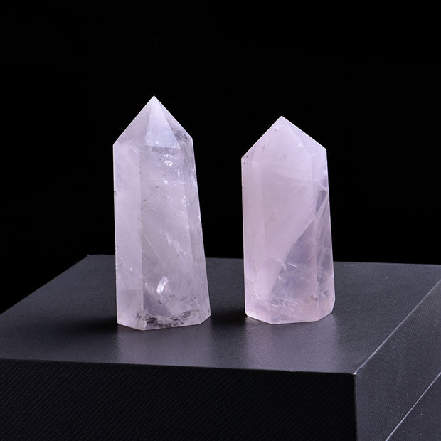 Libra Rose Quartz Healing Crystal