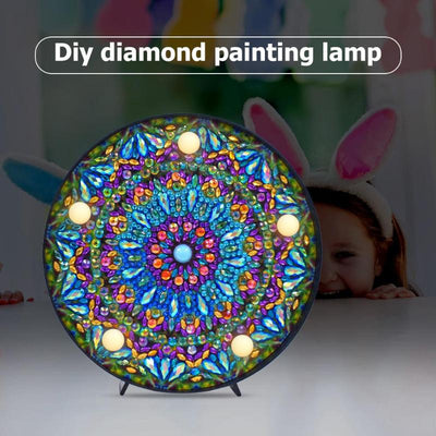 Mandala Diamond LED Painting