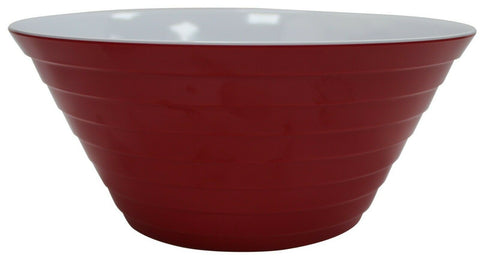 Large 27cm Melamine Plastic Mixing Bowls. In Pink Red Colour Green Or Blue Bowls