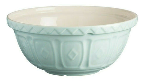 Mason Cash Bowl 24cm Large Light Blue Ceramic 2L Deep Mixing Whisking Bowl S24