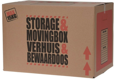 20 x Strong Cardboard Storage Boxes Large Moving Boxes Double Walled