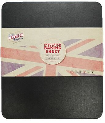 Great British Bakeware BAKS0211 Professional GlideX Insulated Baking Tray Sheet