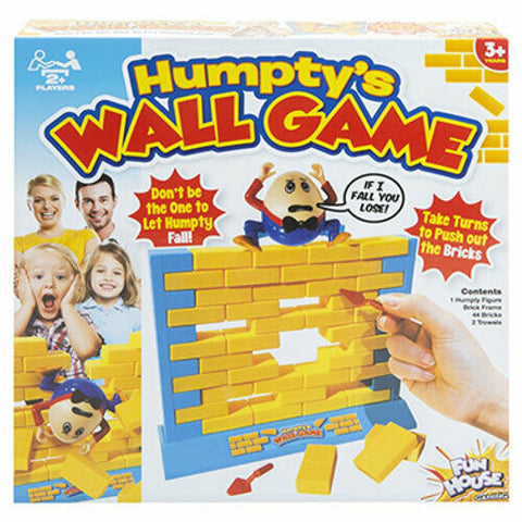 Humpty Dumpty Wall Game - Children Fun Toy Remove The Brick Family Challenge 3+