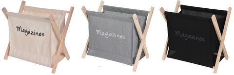 Folding Magazine Rack Newspaper Holder Wood