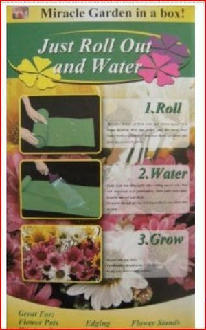 Miracle Garden in a Box. Amazing for Garden Patio Plants, Just Roll Out and Grow