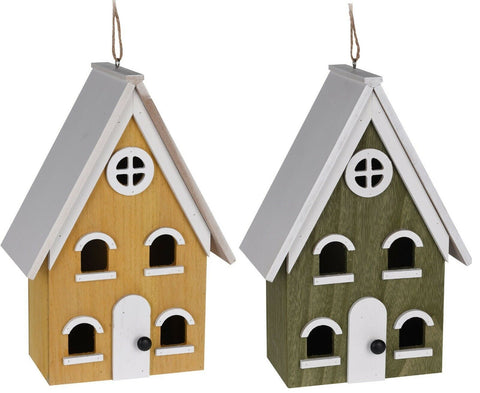 Large Coloured Attractive Tree Hanging or Free Standing Bird House
