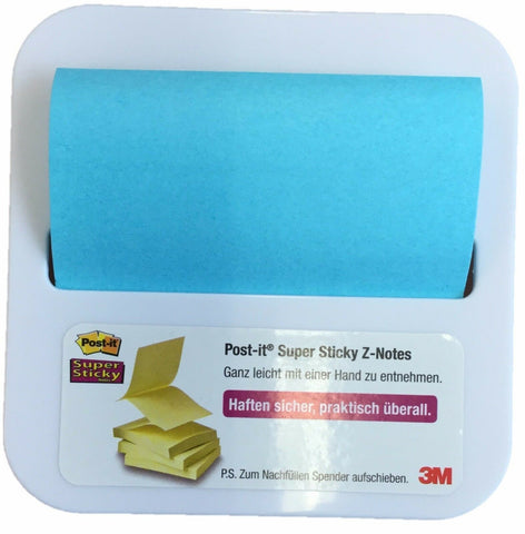3m Genuine Post it Notes in Post it Note Dispenser Stick on Desk On Fridge