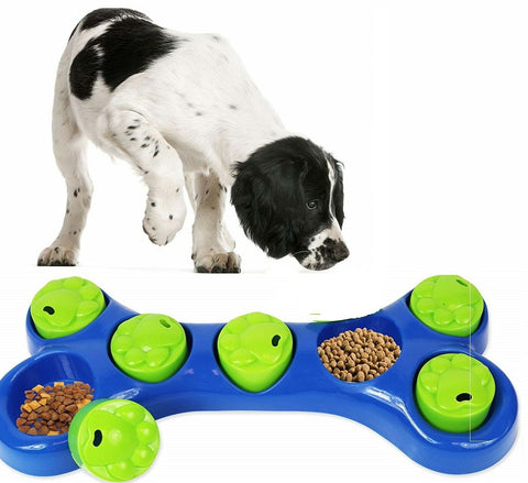 Dog Toy Dog Feeding Bowl Dog Game Interactive Dog Game Healthy Eating