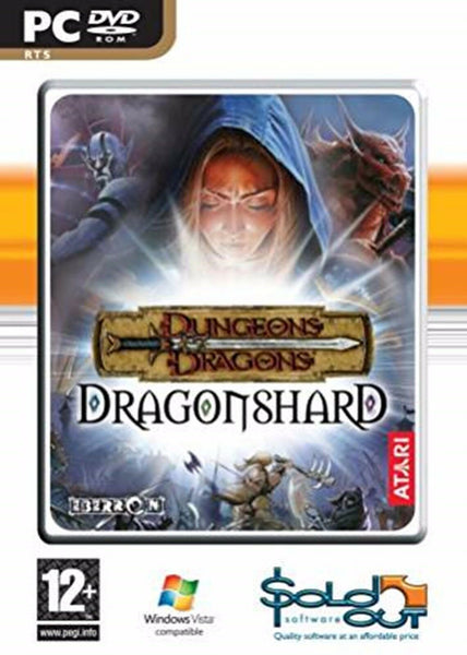 Dragonshard Dungeons Dragons PC Dvd Rom Computer D&D Real Time Strategy Game