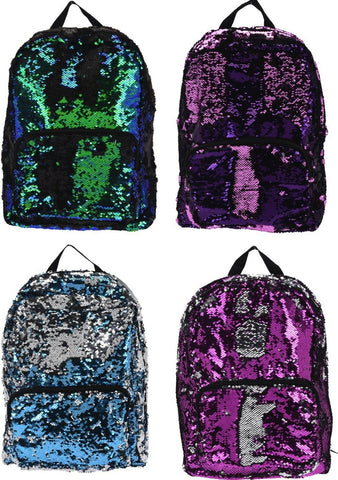Sequin Backpacks RuckSack 40cm x 30cm For Children Ruck Sack