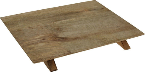 38cm Mango Wood LARGE Rectangle Serving Board Presentation Board Raised