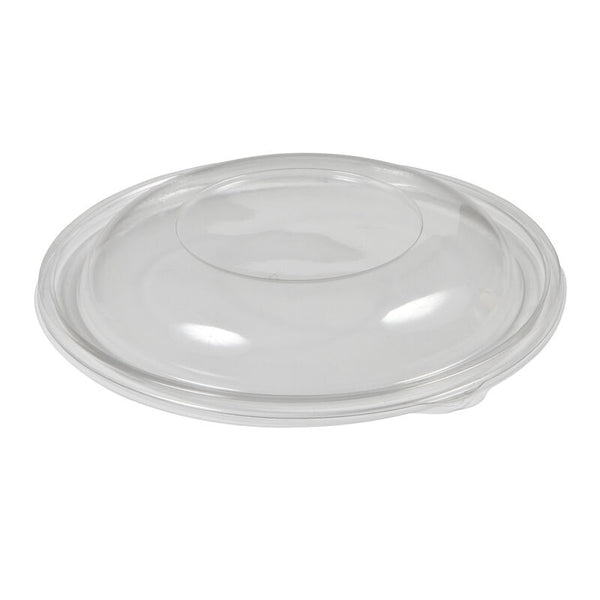 650 x Transparent Plastic Dome Lid for Round Deli Container