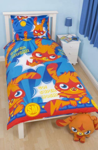 Character World Moshi Monsters Katsuma Rotary Single Duvet Set & Pillowcase