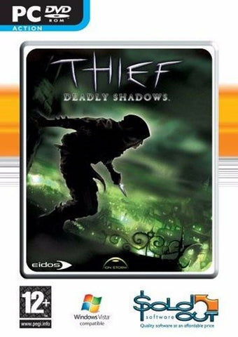 Thief Deadly Shadows PC Dvd Rom Action Packed Computer Game For Players Age 12+