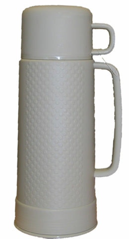1 Litre Insulated Flask With Cup Up to 12 hour Heat Insulation Green Blue Grey