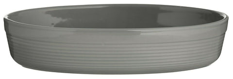 Mason Cash Large Oven Vegetable Roasting Lasagna Dish Grey Oval Pie Dish