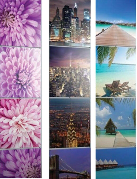 4 Panel Joining Wall Art Hanging Wall Art 4 Tiles Each Tile 40cm x 40cm