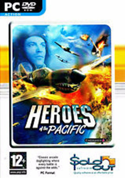 Heroes Of The Pacific PC Dvd Rom Action Packed Flight Combat Computer Game
