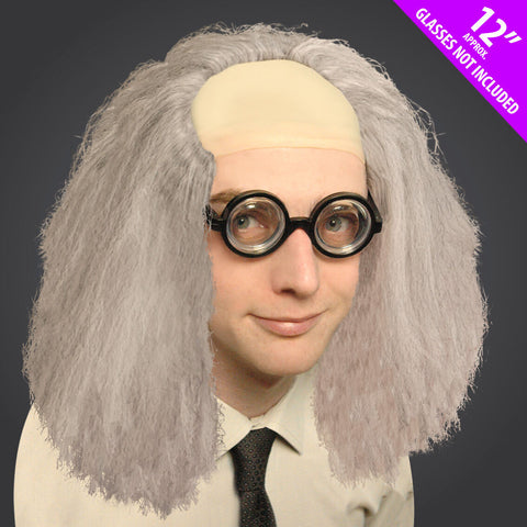 Nerdy Crazy Professor Wig Great for any Hen Stag Party Or Halloween