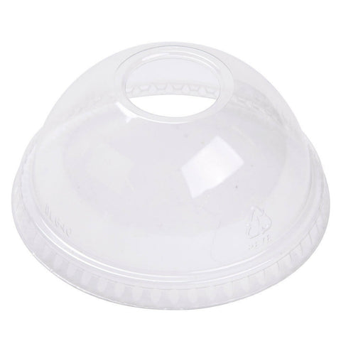 2300 x Solo 9 oz Dome Plastic Snap on Lids