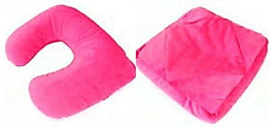 Bright Coloured Tablet Holder Head Rest Neck Pillow Travel Pillow all in one