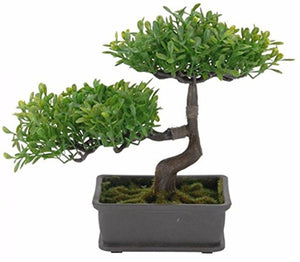 Bonsai tree In Pot Artificial Plant Artificial tree mini trees in pot