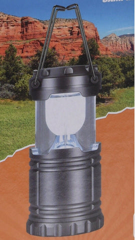 Pop Up Camping Lantern. Led Battery Operated Light Lantern With Holding Hooks