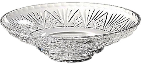 Swartons Lovely Large Crystal Fruit Centerpiece Display Bowl 24% lead