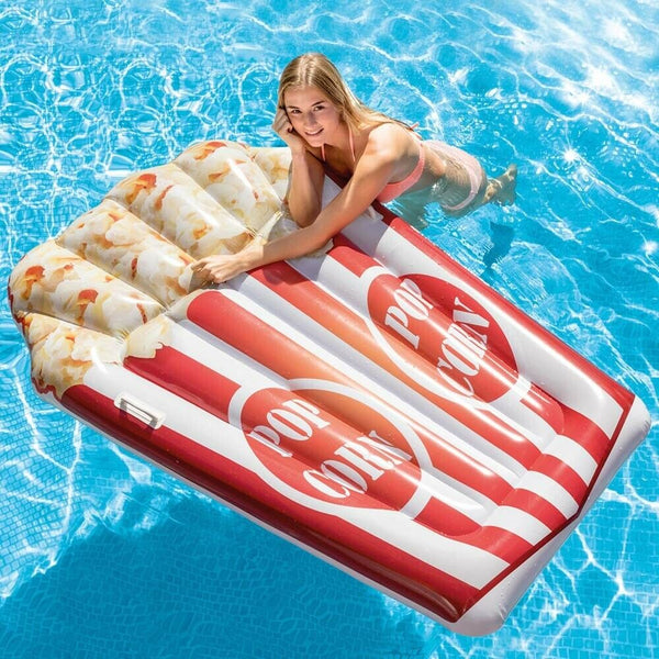Intex Giant Swimming Pool Large Inflatable Float 6ft & Very Wide PopCorn Float