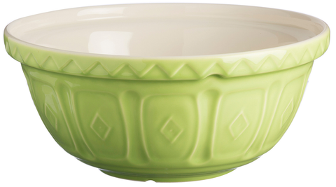 Mason Cash S24 Large Green Mixing Bowl Bright Colours Deep Mixing Bowl 24cm