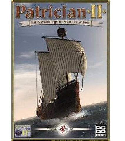 Thrilling Pirate Battles Ascaron Patrician 2 PC CD-ROM Game For All Ages