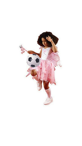 Arsenal Football Fairy Pink Fancy Dress Girls Kit Christmas Costume Dress