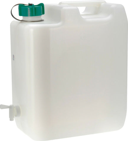 35 Litre Large Water Carrier Jerry Can Container Food Grade Plastic With Tap