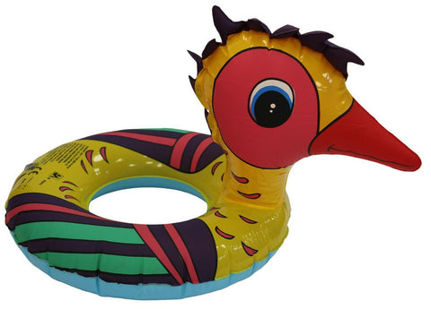 Kids Colourful Inflatable Turkey Ring Swimming Pool Floats