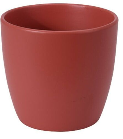 Ceramic 12cm Pastel Colour Design Flower Pot. Ceramic Plant Pot