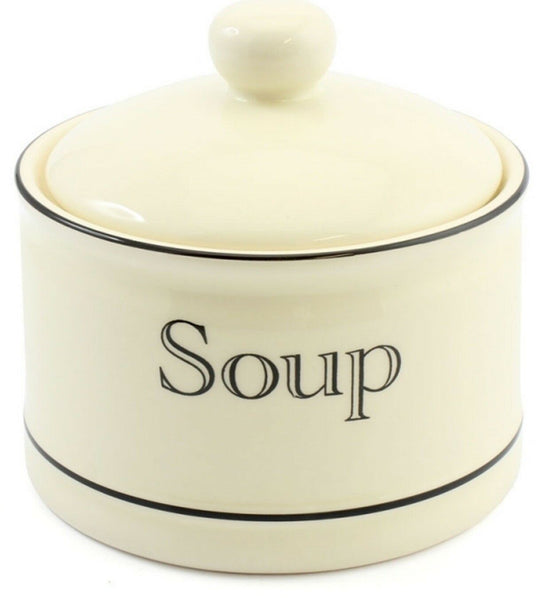 Leonardo Collections Large Lidded Soup Bowl 500ml CREAM