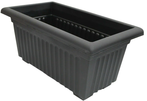 Large 53cm Long Garden Planter Plant Pot Plastic Trough Raised Planter
