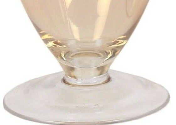 Glass Flower Vase Urn Shaped Vase Gold Shaded Glass 30cm Vase Home Decor