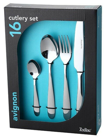 Zodiac AVIGNON 16 Piece Stainless Steel Cutlery Set