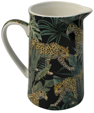 Leonardo Collection Fine China 500ml Jug Jungle Design Milk Coffee Tea Jug