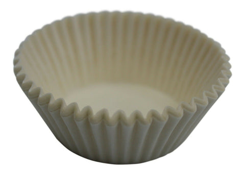 Duni Pack Of 500 White Paper Cup Cake Cases Cupcake cases