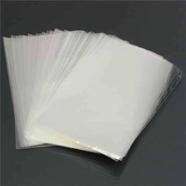 2000 x Clear Plastic Natural Lope Food Bags