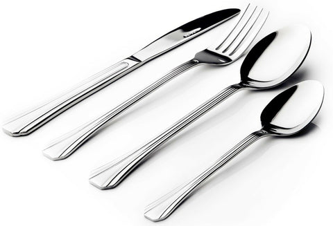 Sabichi Stainless Steel Classy Design 16 Piece Cutlery Set