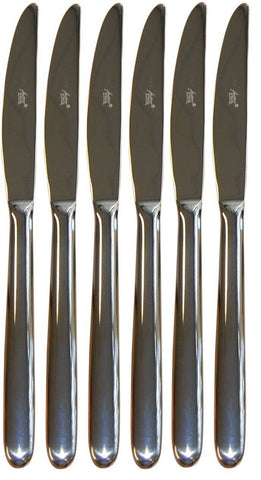 Lovely Set Of John Artis Stainless Steel Dessert Knives Set of 12 Harlan 18/10