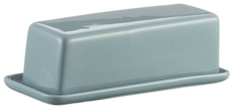 Mason Cash Classic Kitchen Turquoise Butter Dish With Lid Stoneware Butter Dish