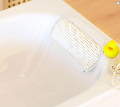 Luxury Memory Foam Bath Pillow With Suction Cups