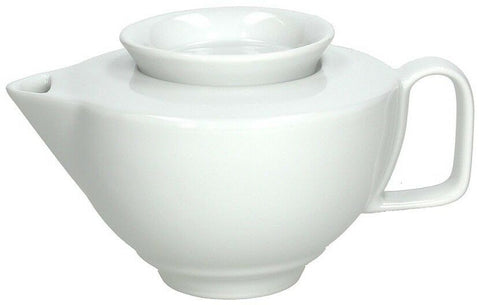 Tognana Thesis White Modern Trendy Porcelain Stackable Teapot