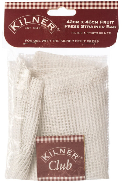 Kilner Fruit Press Strainer Bag Heavy gauge nylon bag Wine Beer Sieve Filter